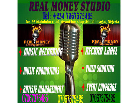 rm music recording studio in lagos - Music, Theatre, Dance