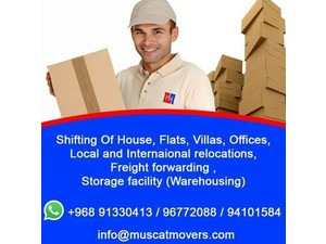 Muscat Movers - Relocation services