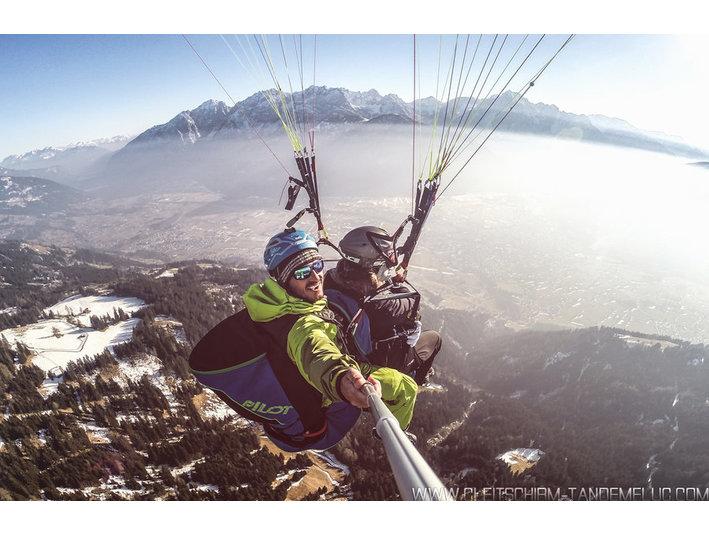 Gleitschirm-Tandemflug.com Lienz, Osttirol - Palloncini, Parapendio e volo Club