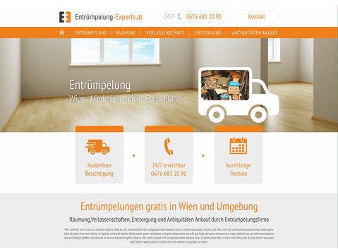 Entrümpelung in Wien und Umgebung - Mudanças e Transportes