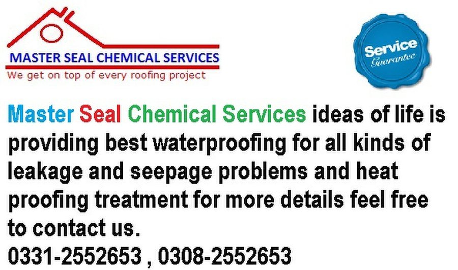 Master Seal Chemical Services: Roofers & Roofing Contractors