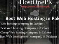 Hostonepk - Best web hosting company in Pakistan (1) - Webdesign