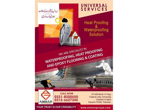 Roof Heat Proofing, Roof Waterproofing & Epoxy Coating - Roofers & Roofing Contractors