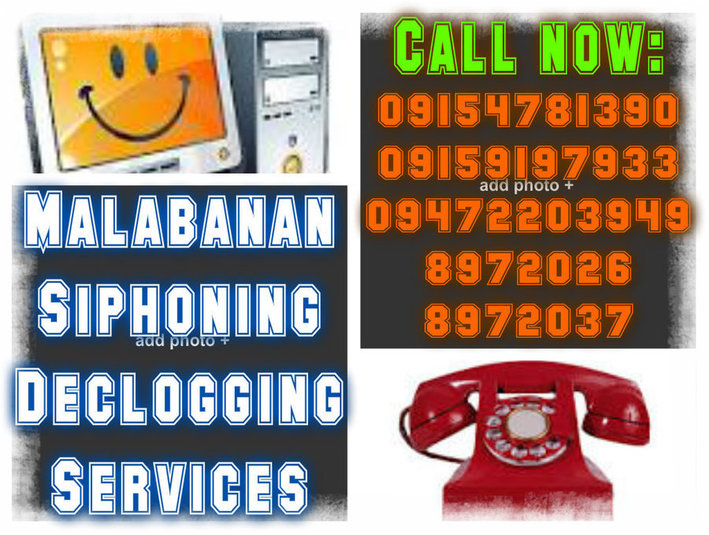 jhen Malabanan declogging and siphoning services - Plumbers & Heating
