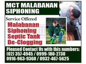 Malabanan Siphoning Services - Septic Tanks