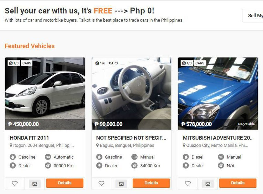 Brand New And Used Cars For Sale In Philippines Tsikot Car