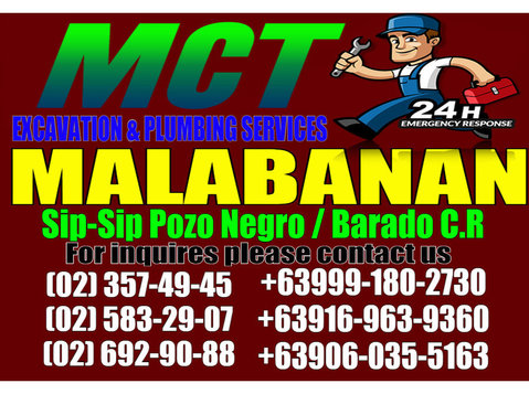 mct Malabanan siphoning and plumbing services - Plumbers & Heating