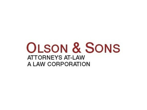 Olson & Sons, Attorneys-at-law, A Law Corporation - Lawyers and Law Firms