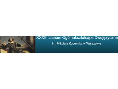 33 Liceum im.M.Kopernika - International schools