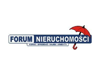 Forum Nieruchomości - Agencje nieruchomości