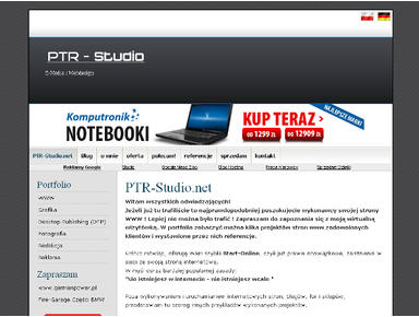 PTR-Studio.net - Hosting i domeny