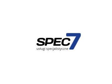 Spec7 - klimatyzacja i wentylacja - Usługi budowlane