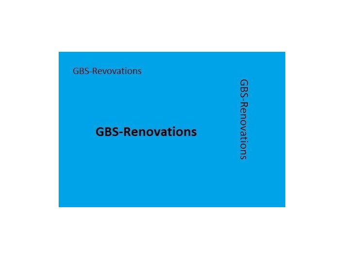 GBS- Renovations - Bouw & Renovatie