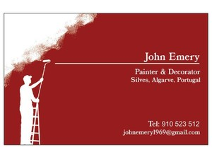 John Emery, Painter & Decorator - Schilders & Decorateurs