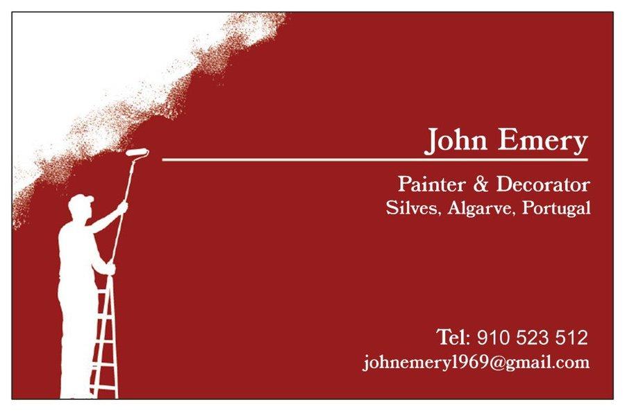 John emery painter decorator pintores y decoradores en algarve portugal building renovation - Pintores y decoradores ...