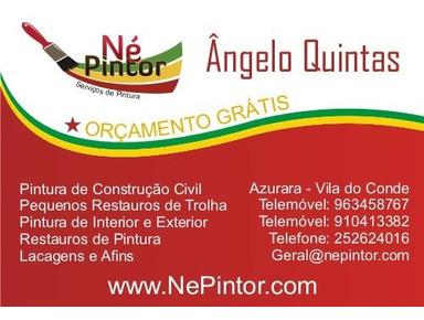 Né Pintor - Pintura de construção civil no Porto - Pintores & Decoradores