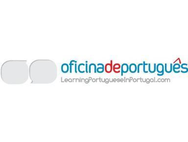 Oficina de Portugues - Escolas de idiomas