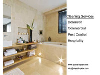 crystal qatar w.l.l - Cleaners & Cleaning services