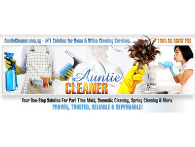 Auntie Cleaner (Singapore) Pte Ltd - Cleaners & Cleaning services