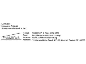 Summerhaus D'zign Pte Ltd - Home & Garden Services