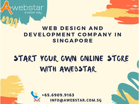 Awebstar Technologies Pte ltd. - Webdesign