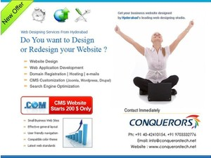 Custom Software Develoment Hyderabad - Webdesign