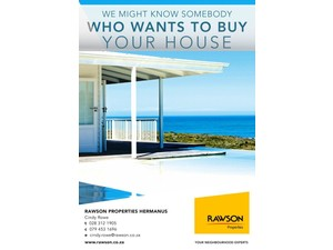 Cindy Rowe - Real Estate Agent - Rawson Properties Hermanus - Estate Agents