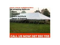 Brian Van, Tent Hire (3) - Home & Garden Services
