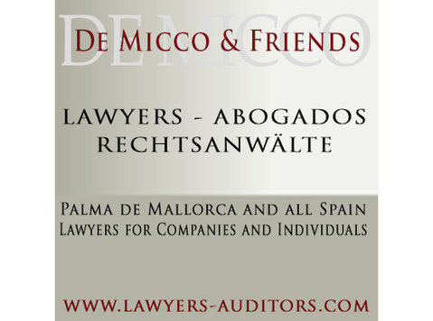 De Micco & Friends company formation lawyers and tax advisor - Creación de empresas