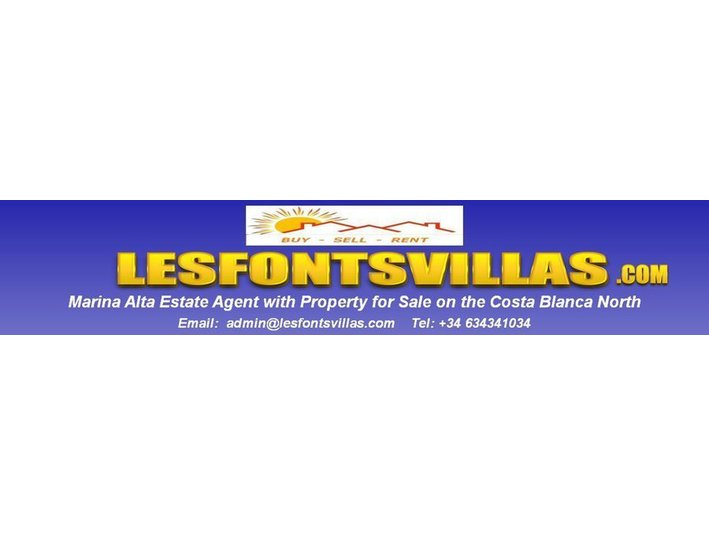 Lesfontsvillas - Estate Agents