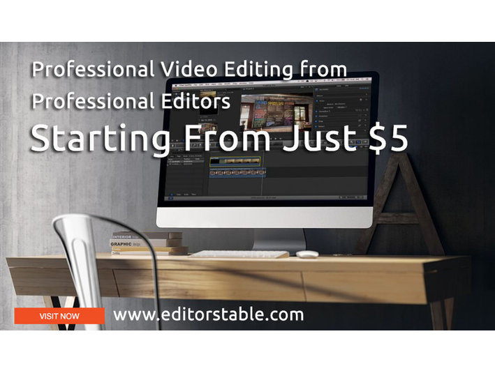 Editors Table Video Editing Solutions - Photographers