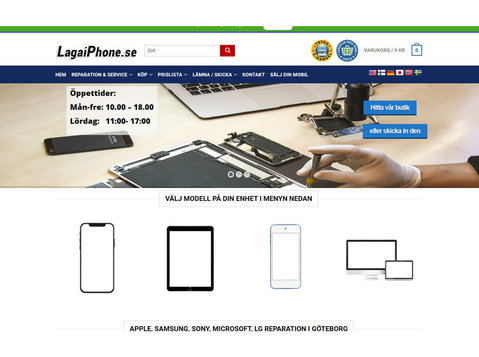 lagaiphone.se Avenyn Göteborg - Computerfachhandel & Reparaturen