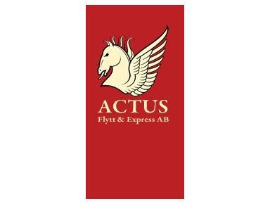 Actus Flytt Express AB - Removals & Transport