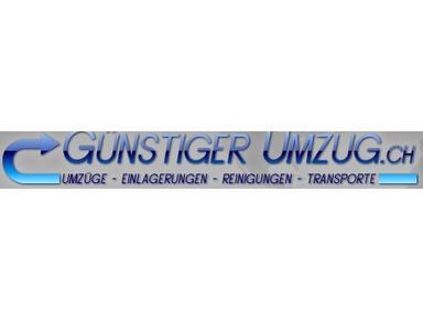 Günstiger Umzug - Removals & Transport