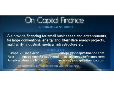on capital finance - Financial consultants