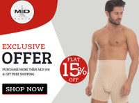 Montale Store: Buy Body Shapewear For Men Women Dubai Uae (3) - Abbigliamento
