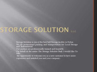 Storage Solution Cargo Packaging Llc (5) - Relocation services