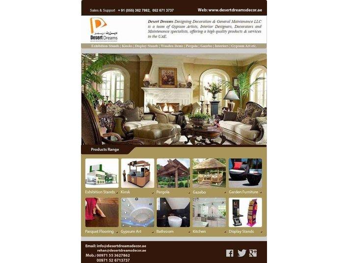 Desert Dreams Design Decoration & General Maintenance LLC. - Painters & Decorators