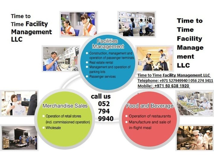 time to time facaility management LLC - Conference & Event Organisers