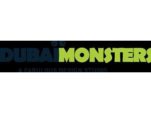 Dubai Monsters - Webdesign