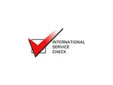 INTERNATIONAL SERVICE CHECK - Consultancy