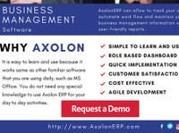 Axolonerp - ERP Software Solutions (2) - Business Accountants