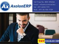 Axolonerp - ERP Software Solutions (3) - Business Accountants
