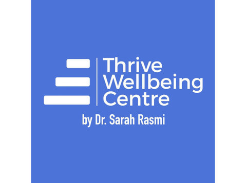 Thrive Wellbeing Centre by Dr. Sarah Rasmi - Psychologists & Psychotherapy