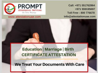 Prompt Attestation Services (2) - Consultancy