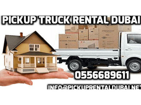 Pickup Rental Dubai - Removals & Transport
