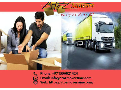 Best movers and packers in Dubai - A to Z movers and storage - Removals & Transport