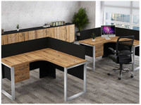 Office Interior - Office Furniture, chairs, flooring (3) - Office Supplies