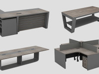 Office Interior - Office Furniture, chairs, flooring (4) - Office Supplies