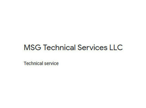 Msg technical services LLC - Plumbers & Heating